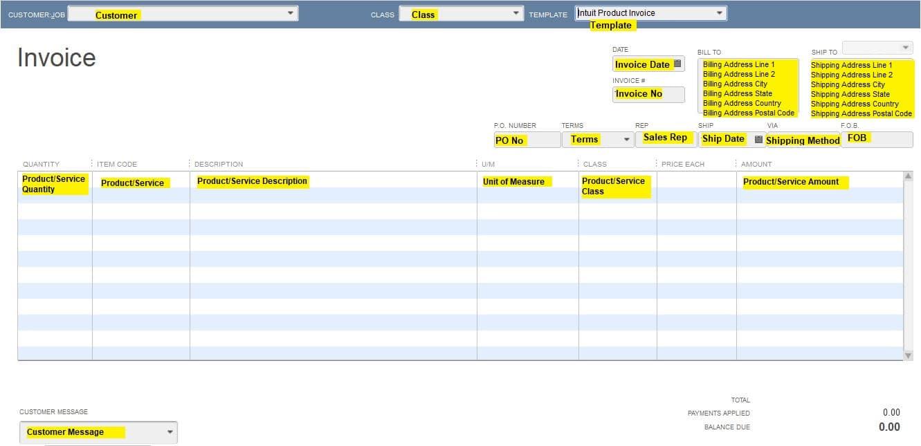 Import Invoices in to QuickBooks Desktop